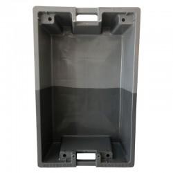 Bac bicolore gris/gris 75 Litres Allibert 11074