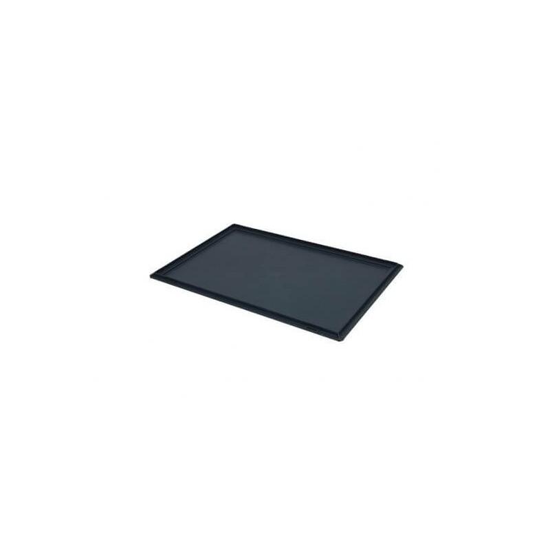 Couvercle sans chanière pour bac norme europe 600x400 mm