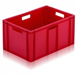 Bac gerbable allibert rouge Normes Europe 60 litres