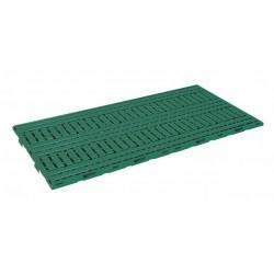 Caillebotis plastique vert